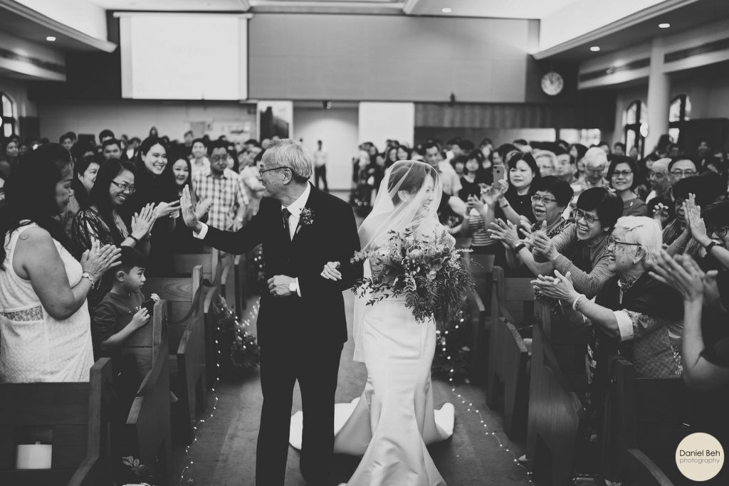 Trueway Presbyterian Church Actual Day Wedding Senghong Joanne